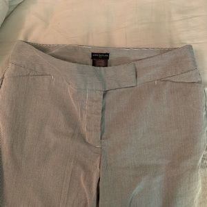 Ann Taylor cropped business casual pants